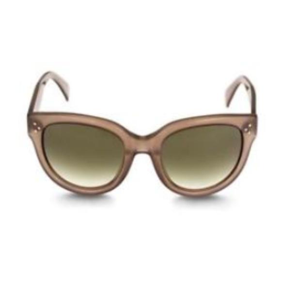 86f07f75a09c Celine Paris Audrey Sunglasses Opal Brown Gray